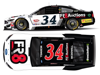 *Preorder* Michael McDowell 2021 Fr8Auctions.com 1:24 Color Chrome Nascar Diecast Michael McDowell, Nascar Diecast,2021 Nascar Diecast,1:24 Scale Diecast, pre order diecast